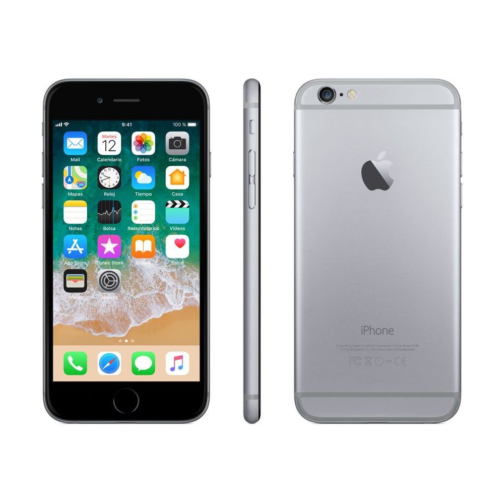 02a8f7634ba Iphone 6 32 GB Gris - elektra