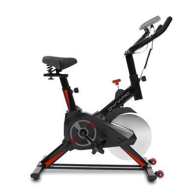 Bicicleta Fija Dynamic para Spinning Negro con Rojo BW-DY7622