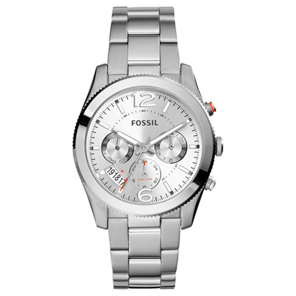 Reloj Fossil Es3883 Para Dama Plateado Elektra Com Mx