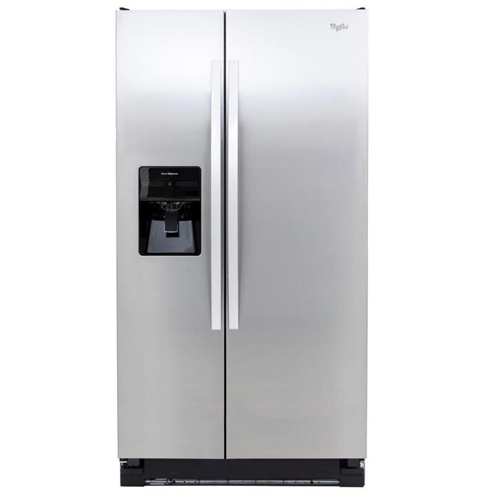 Whirlpool refrigerador 25 pies wd5505s acero inoxidable for Refrigerador whirlpool
