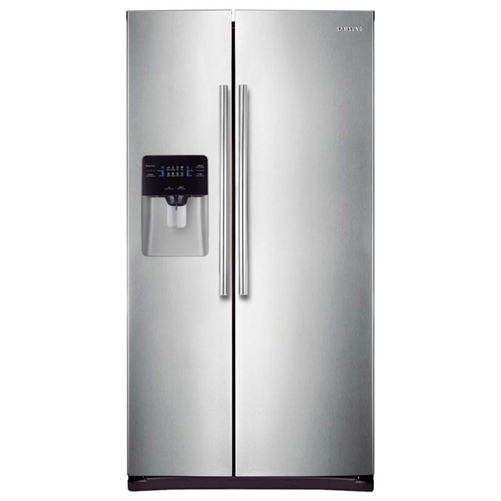 Samsung Refrigerador 25 Pies Rs25j5008sp Em Platinum