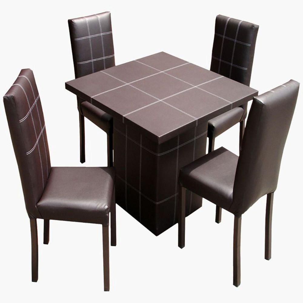 Antecomedor 4 personas diamond caf elektra online elektra for Comedores de 4 sillas economicos