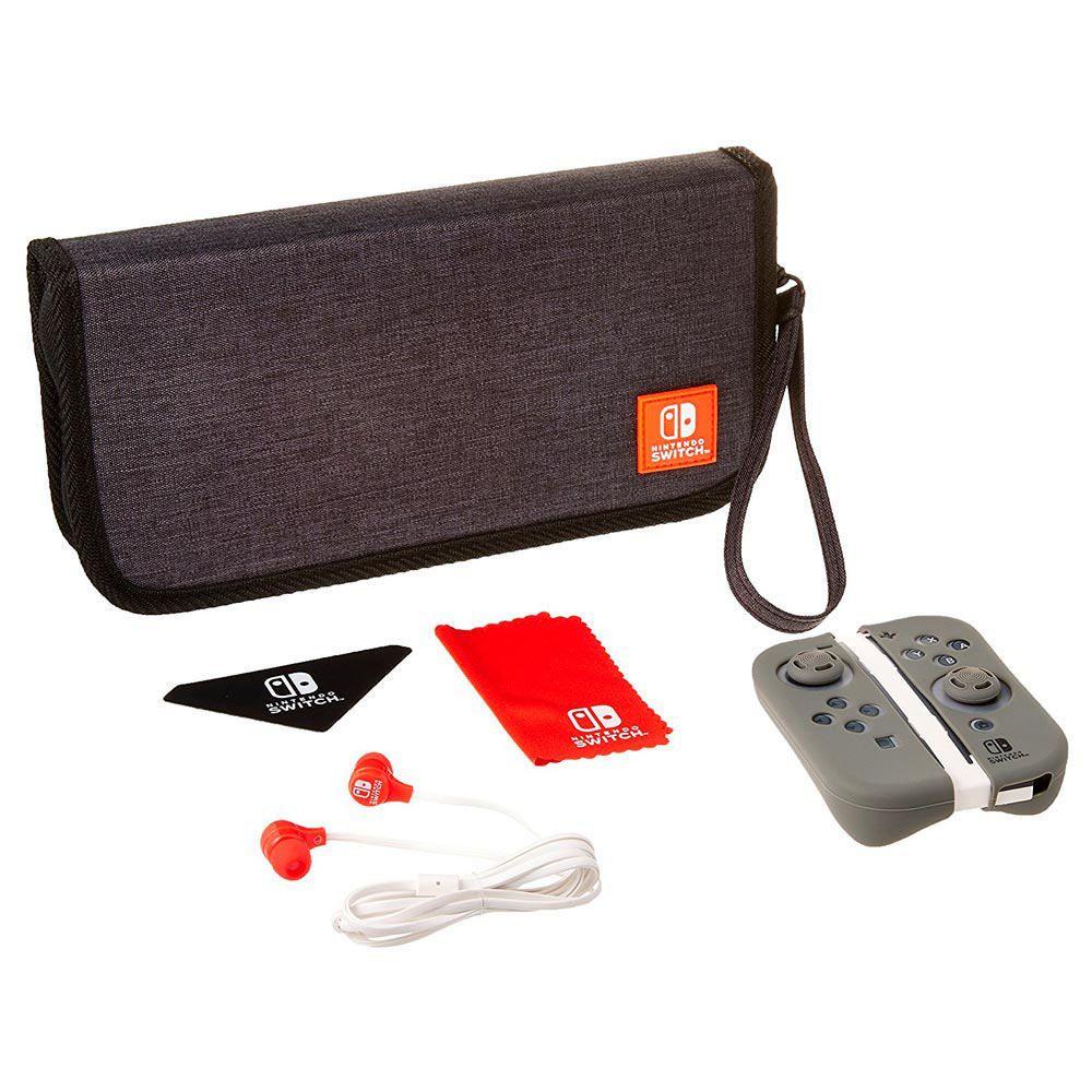 nintendo switch quintisenltial color gris kit elektra. Black Bedroom Furniture Sets. Home Design Ideas