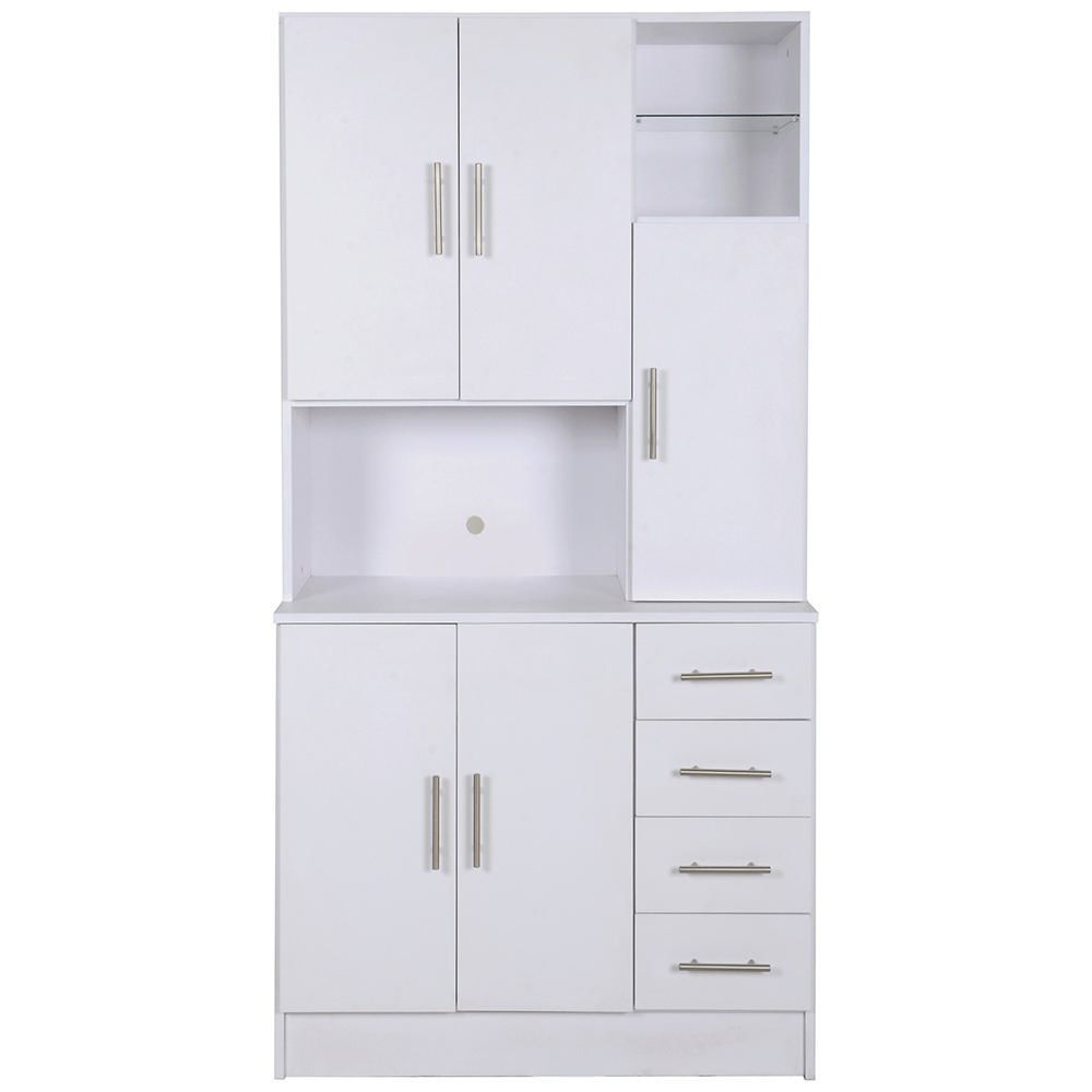 Alacena 1 pieza roma blanco elektra online elektra for Severino muebles cocina alacena melamina blanca