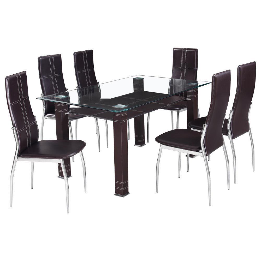 Antecomedor l bano ii 6 sillas caf elektra for Comedores 6 sillas elektra