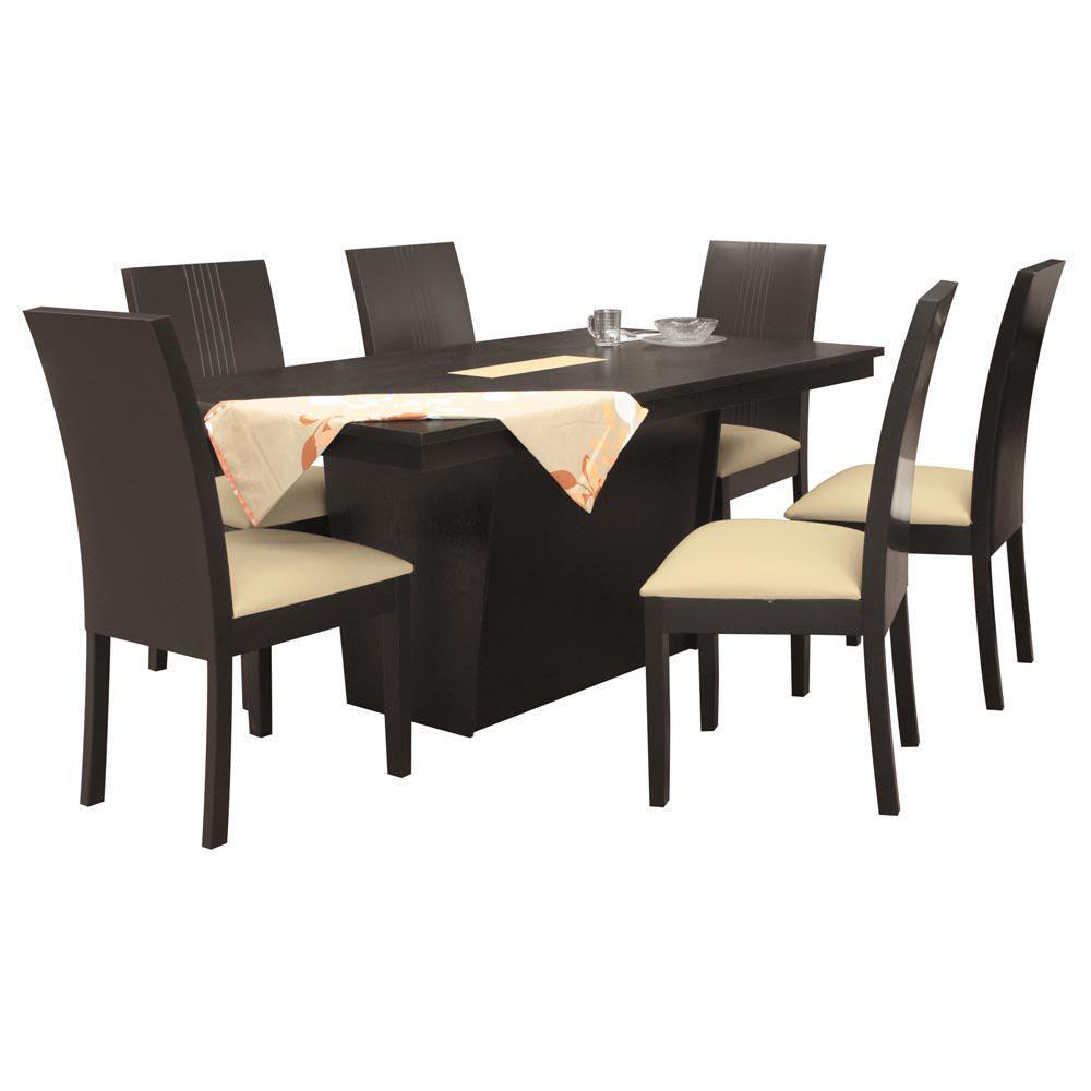 Comedor finlandia 6 sillas elektra for Comedor 6 sillas usado