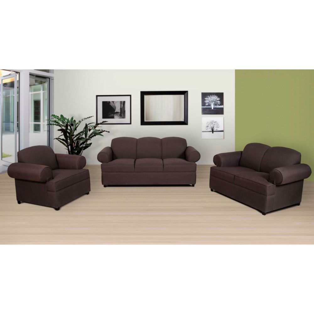 Sala margot 3 piezas caf elektra for Muebles de sala 3 piezas