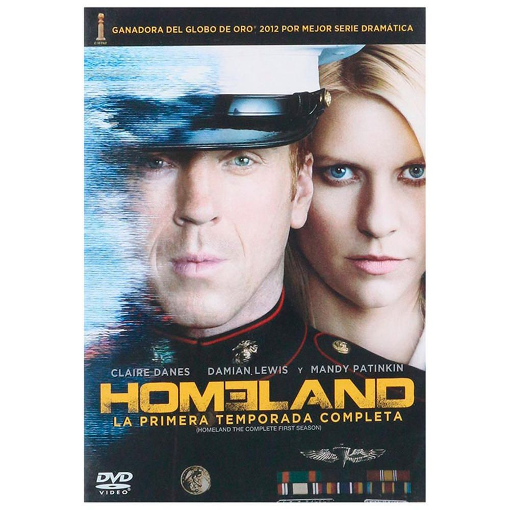 Homeland Temporada 1 DVD