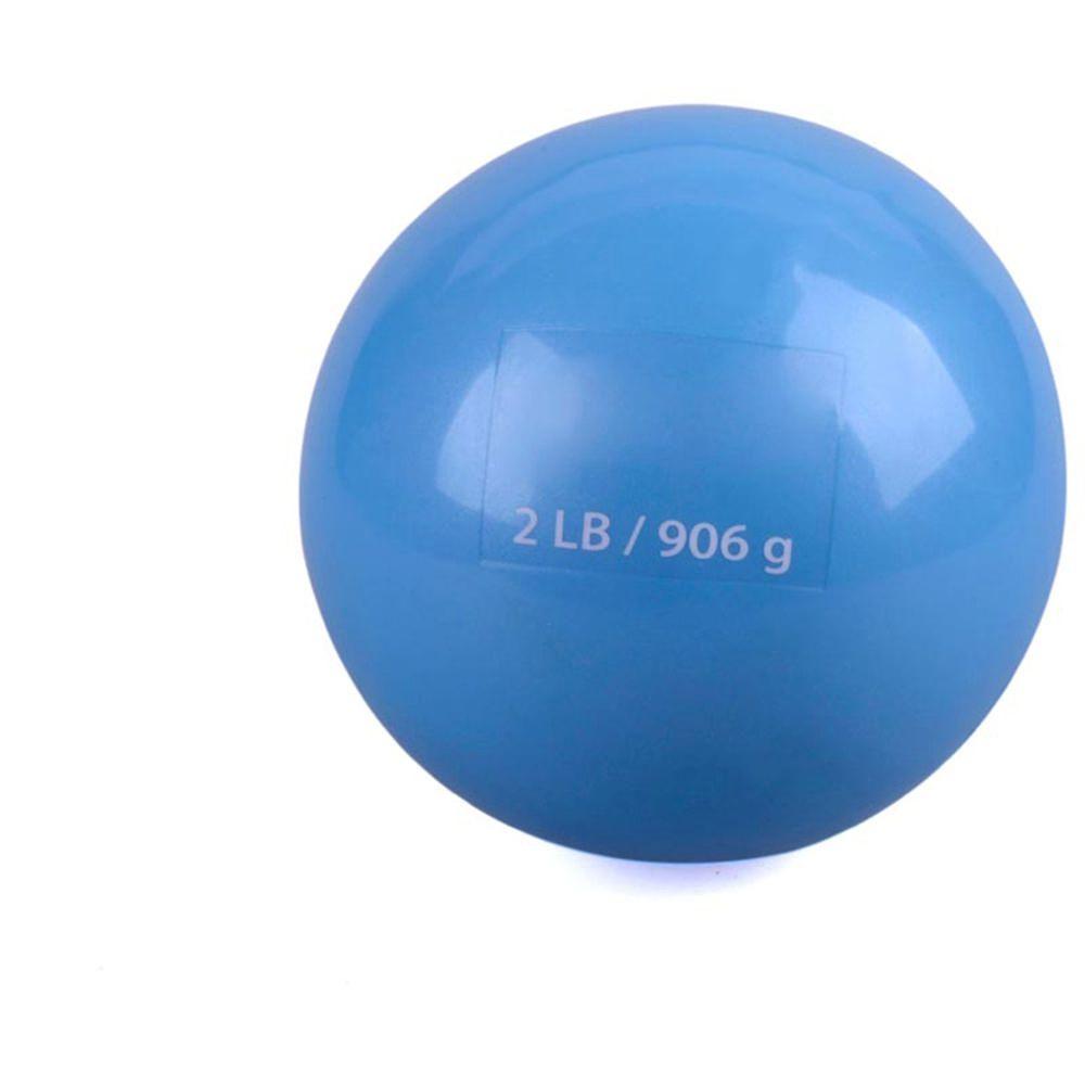 Bodyfit Pelota de Peso 2 Lb- Azul e06196770490