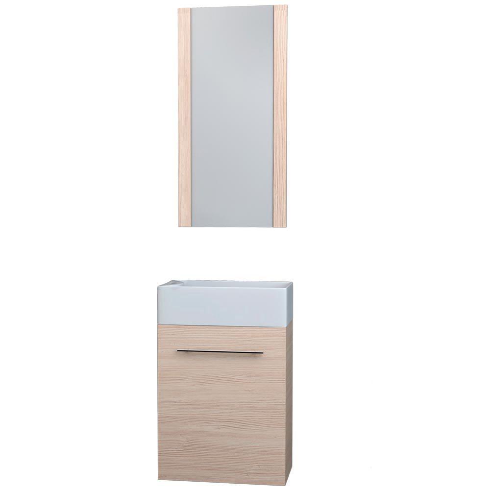 Gabinete para ba o tendenzza verona madera elektra for Gabinetes de bano en madera