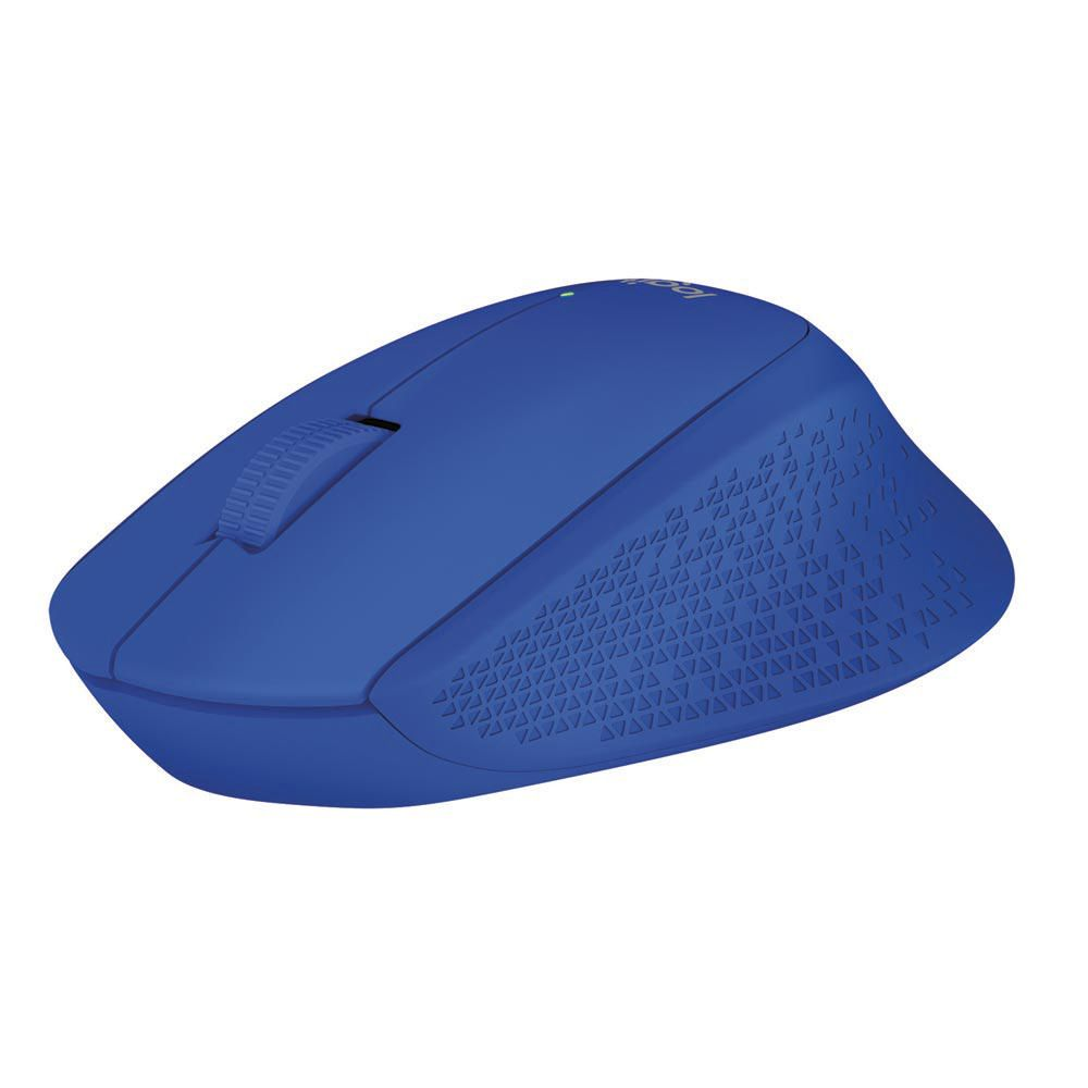 Logitech Mouse M280 Inalámbrico - Azul