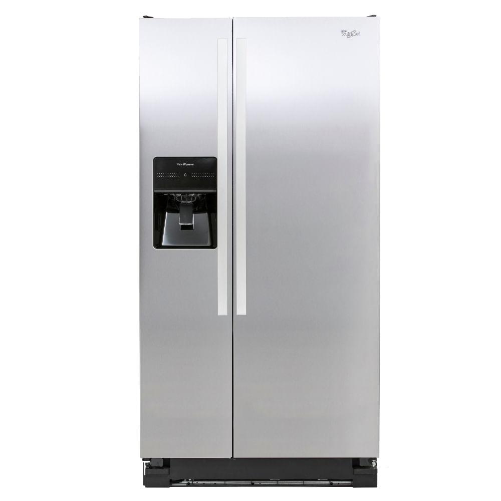 Refrigerador Whirpool-22-Pies-Acero-Inoxidable