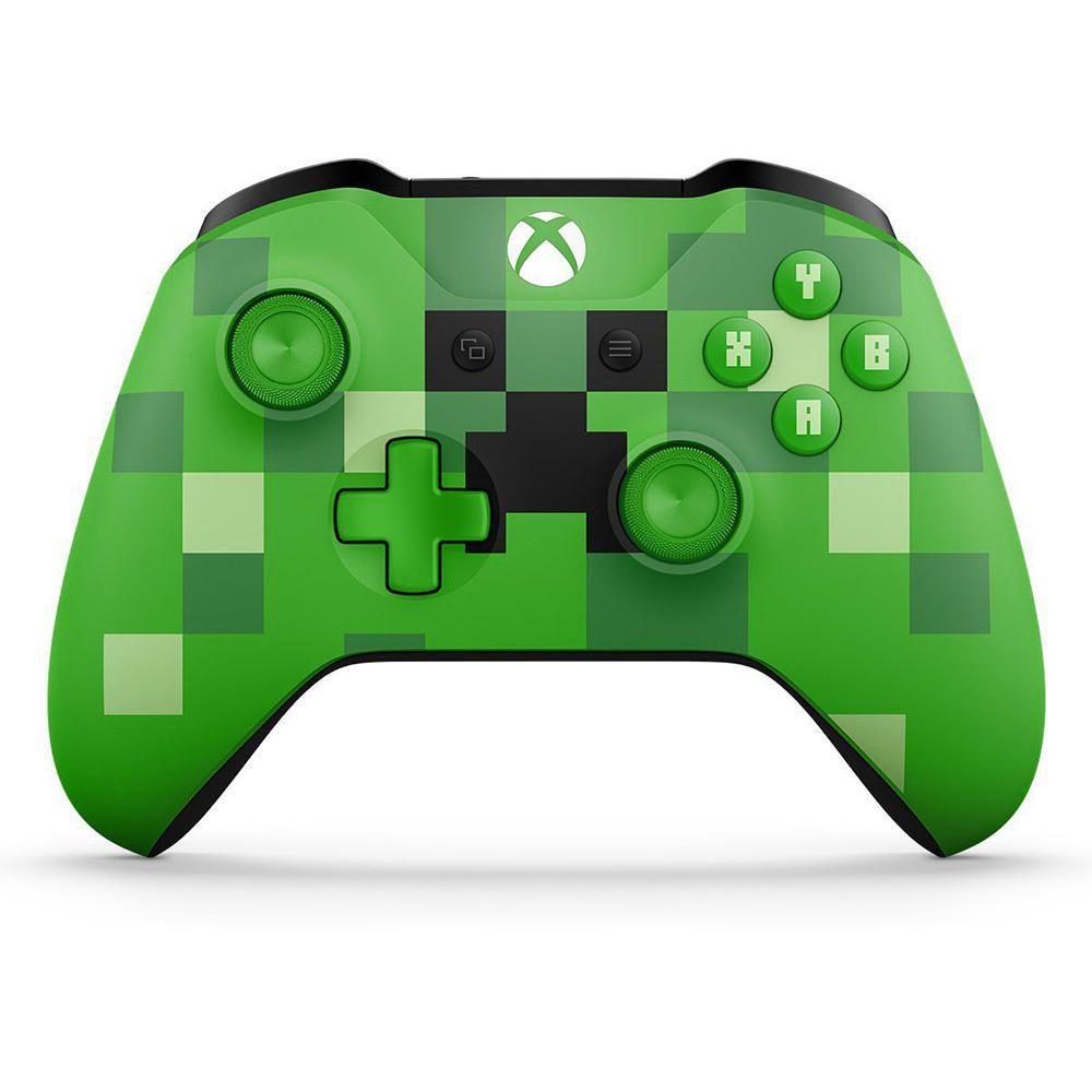 aebb2b9d017 Control Inalámbrico Xbox One Edición Especial Minecraft Creeper