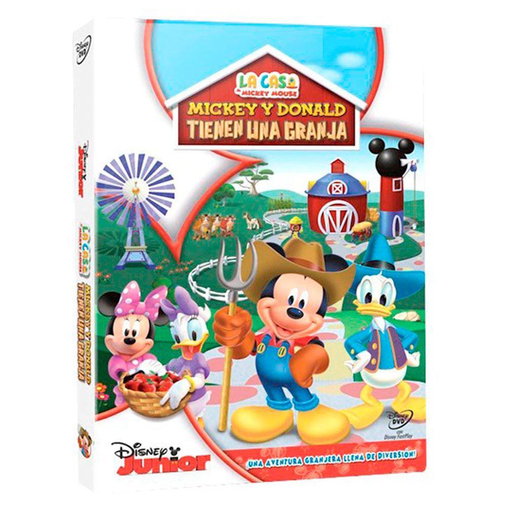 Casa De Mickey Mouse: Mickey Y Donald Tienen Una Granja DVD ...