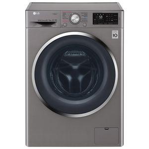 Lavasecadora-LG-10-1-Kg-6-Kg-Plata