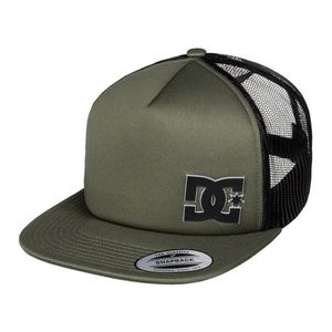 Gorra Casual DC Shoes Madglads - Verde   Negro 9d3a66556c5