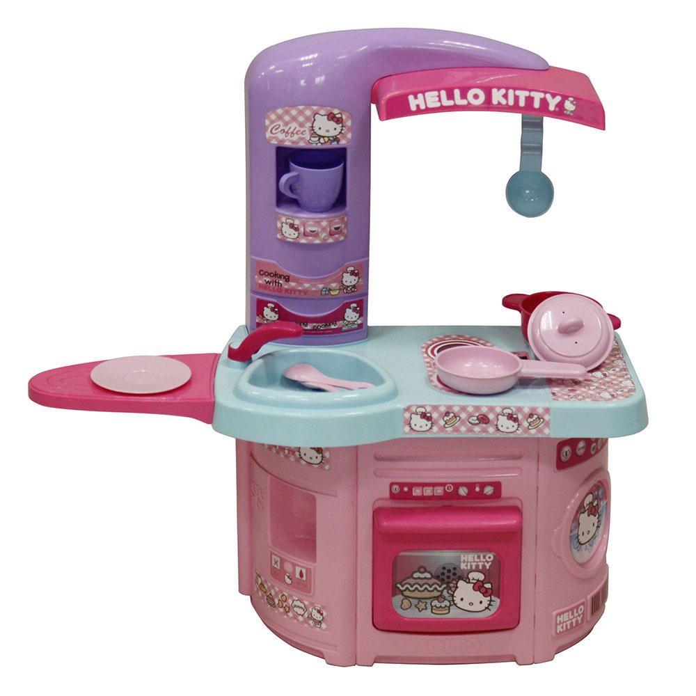 Cocina de juguete first chef hello kitty elektra online for Cocina de juguete
