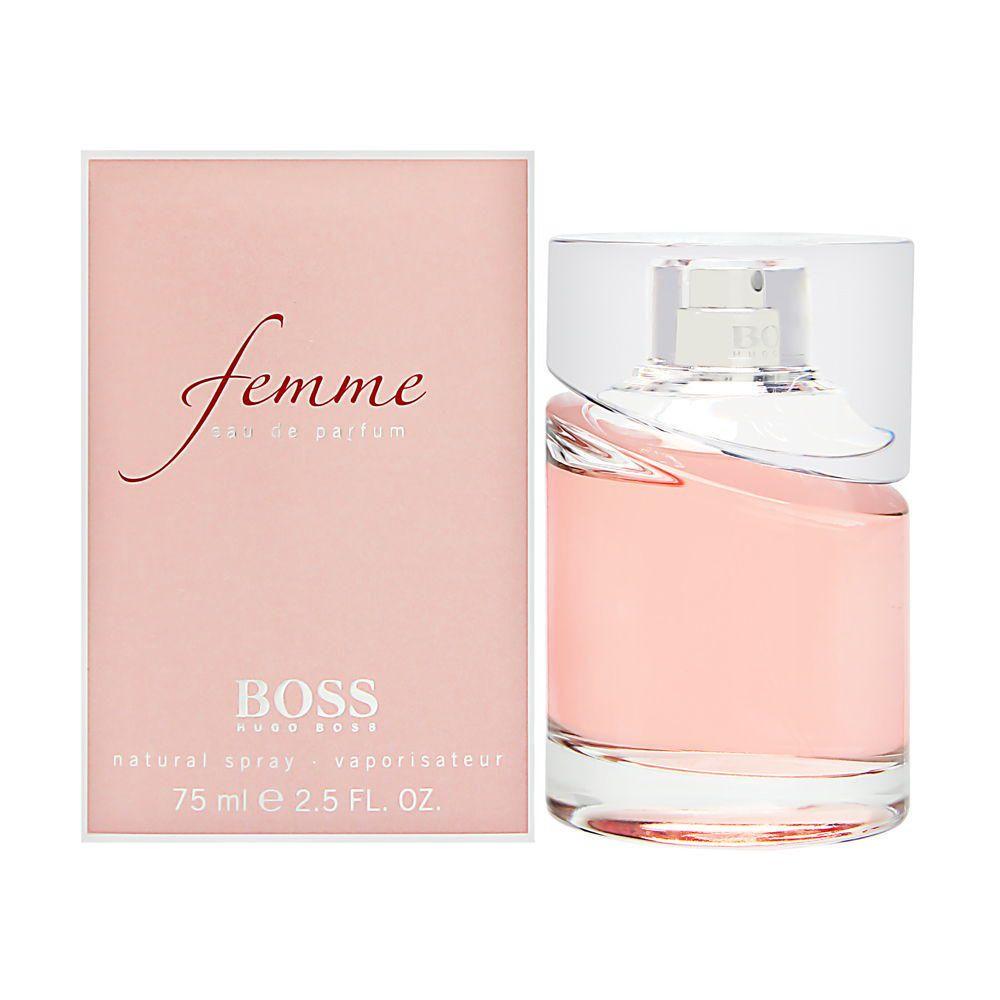 Fragancia Para Dama Hugo Boss Femme Eau De Parfum 75 Ml Elektra