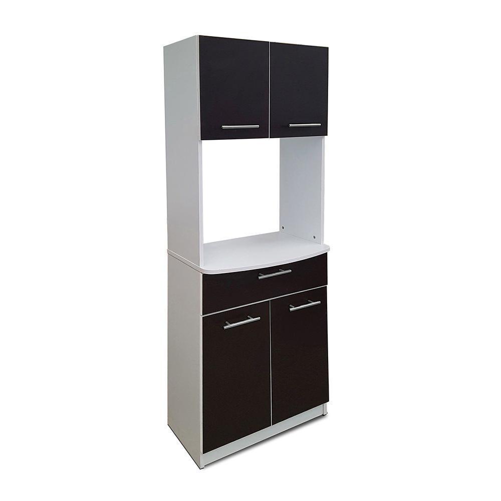 Mueble Para Microondas Toronto 4 Puertas Y 1 Caj N Elektra Com  # Muebles Microondas
