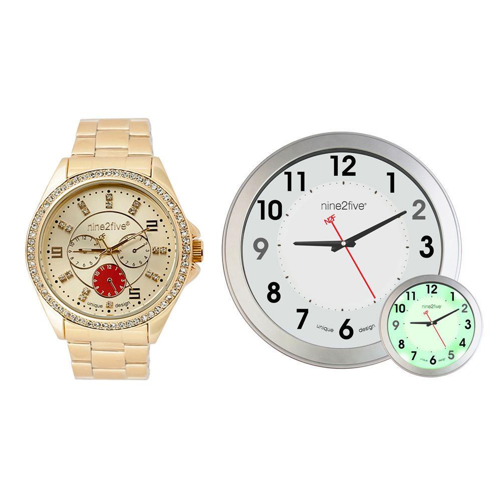 Set de Reloj de Pulso y Reloj de Pared N2F | Elektra Online - elektra