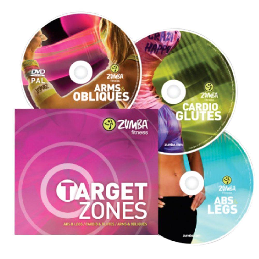 Programa de Ejercicios en Vídeo Zumba Target Zones