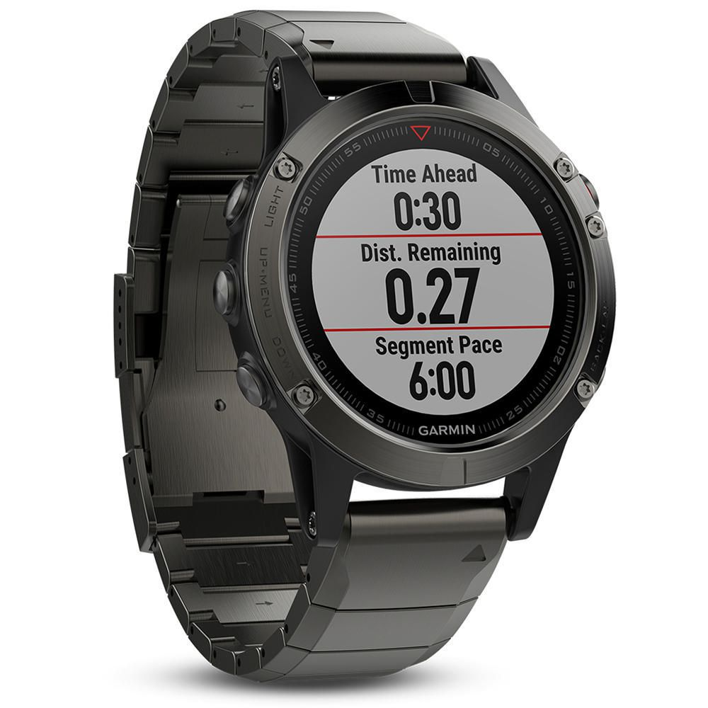 100f93c7855c Reloj Deportivo Fénix 5 Sapphire Garmin Gris-Elektra.com.mx - elektra