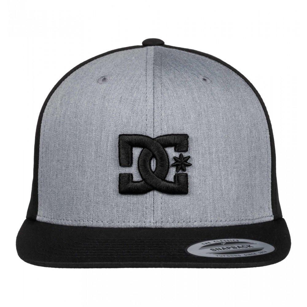 Gorra Casual DC Shoes Snappy - Gris   Negro 40b250ca41e