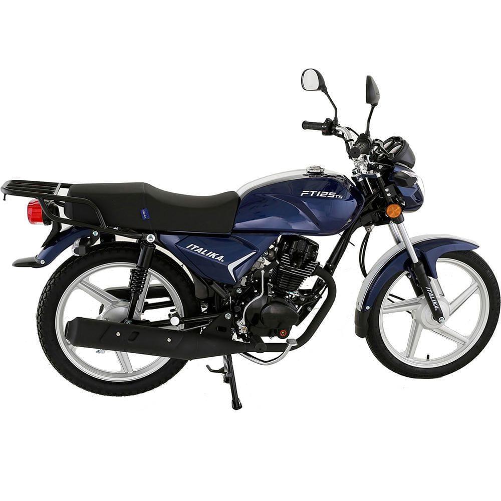 Motocicleta De Trabajo Italika Ft125 Ts Elektra Online