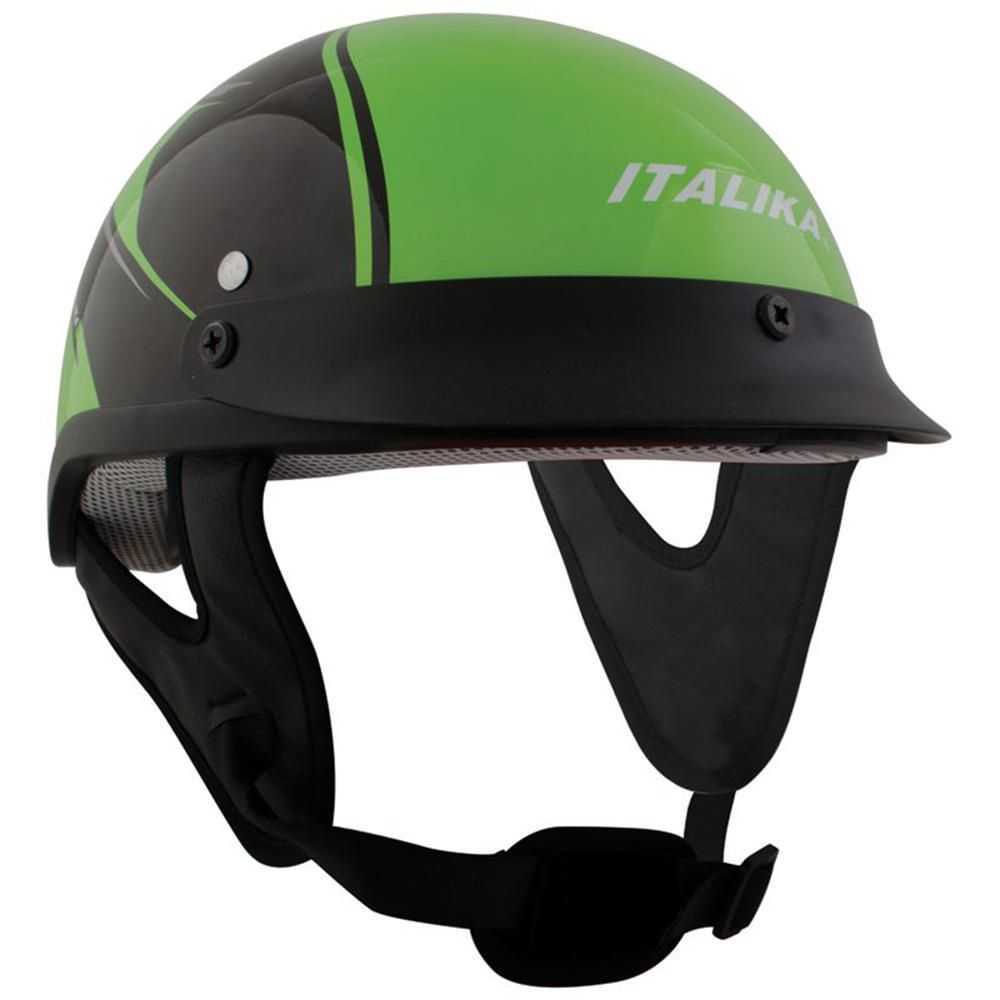 d13df507fea35 Casco Abierto Italika Verde Grande
