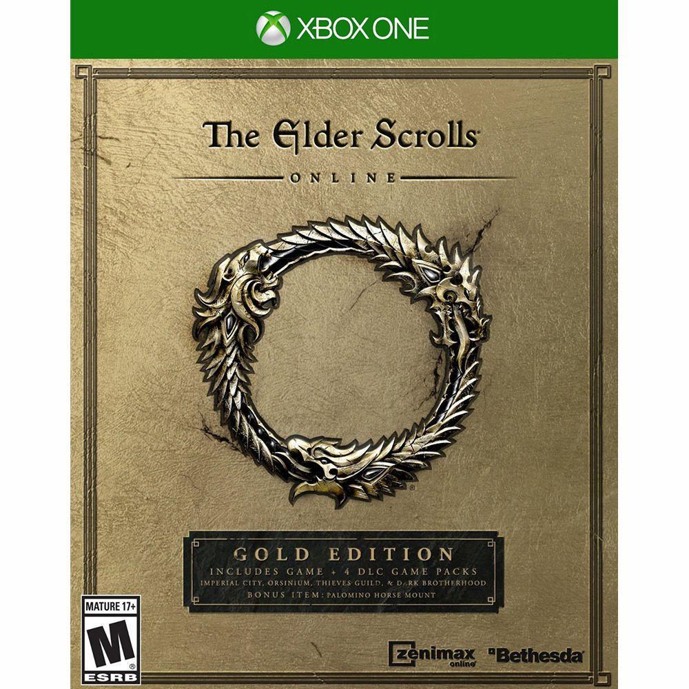 the elder scrolls online gold edition xbox one