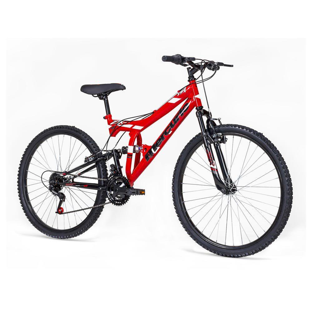 Bicicleta De Monta 241 A Mercurio Ztx R26 Rojo Elektra