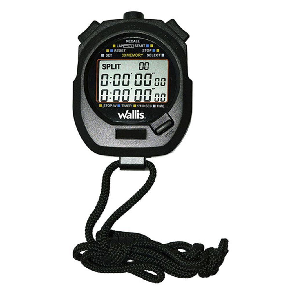 1b78443d0 Reloj Cronómetro Digital Wallis Negro | Elektra Online - elektra