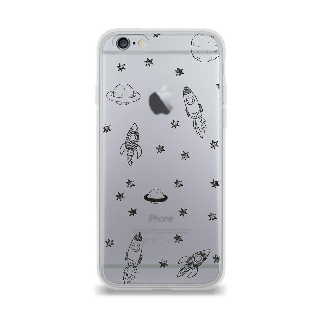 e223e53498e Funda para iPhone 6 Uniquecases Space Sketch | Elektra Online - elektra