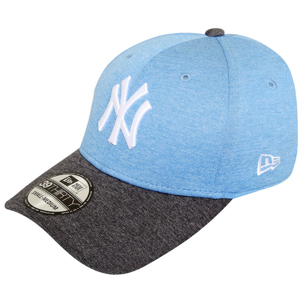 Gorra New Era 3930 MLB New York Yankees Azul con Gris Oxford Chica ...