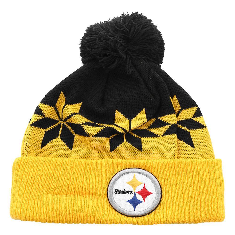 4ec90344e8141 41000668. Gorro New Era NFL Pittsburgh Steelers Amarillo con Negro