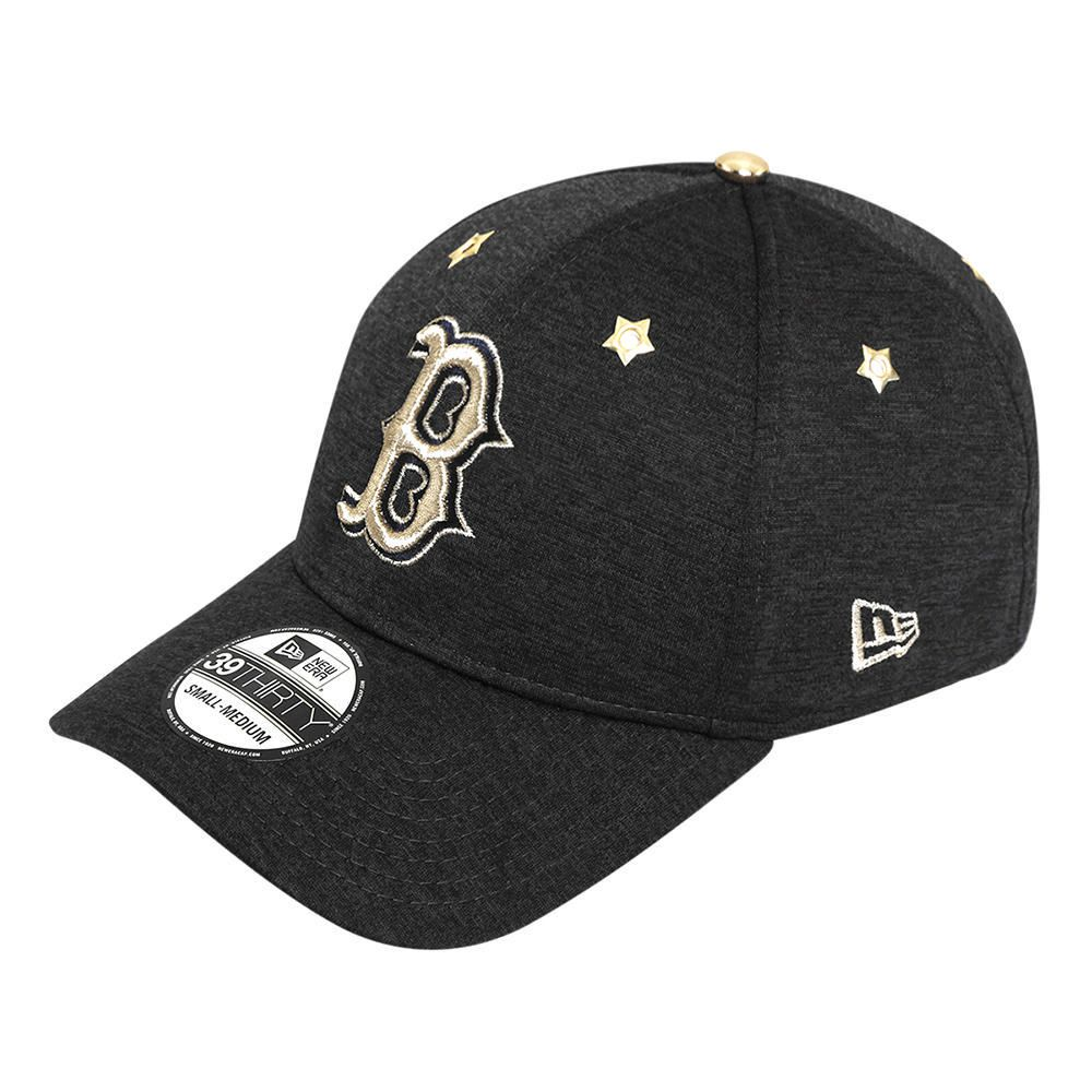 Gorra New Era 3930 MLB Boston Red Sox Twist Negro con Oro  3d6eb7dec97