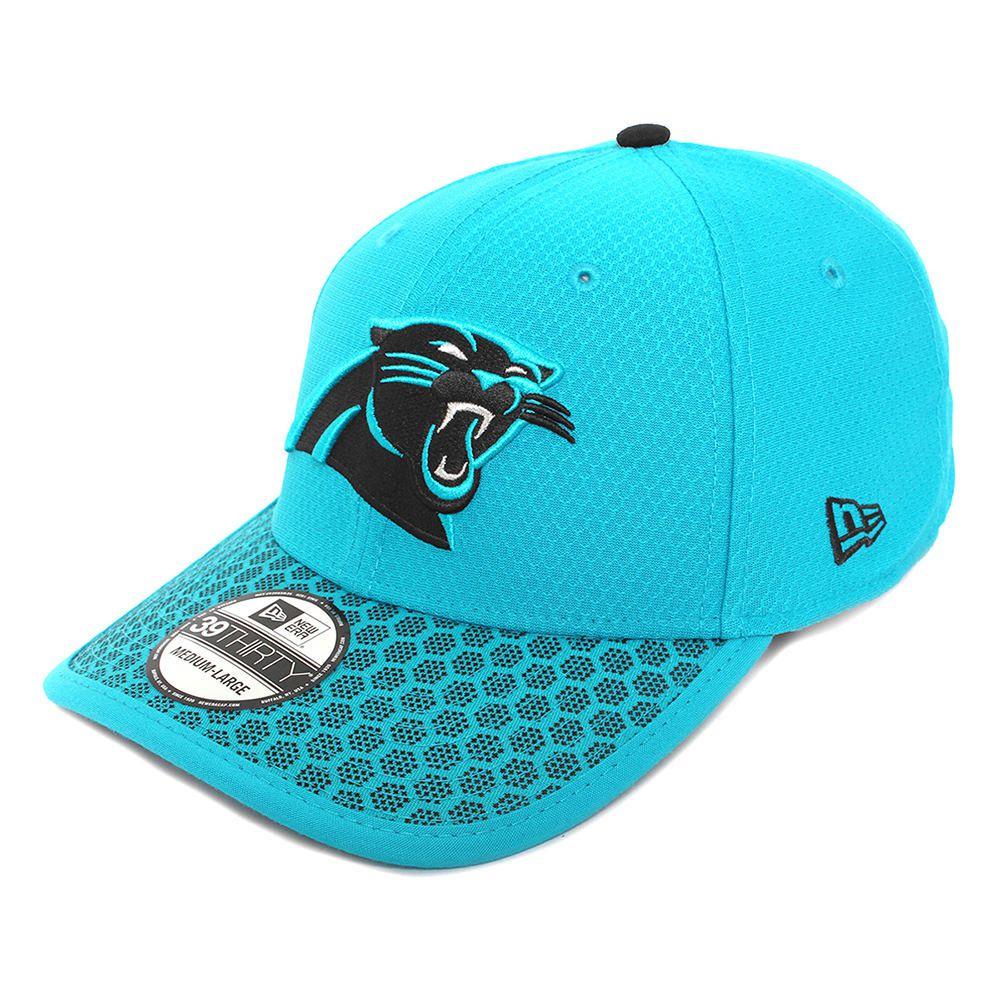 2071696a95a4a Gorra New Era 3930 NFL Carolina Panthers Onf Aqua con Negro ...