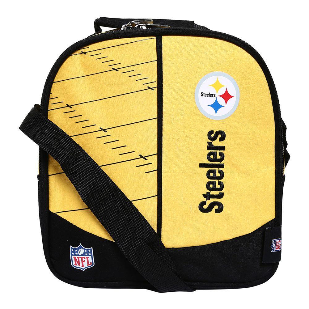 ba57e3015d0e2 Lonchera NFL Pittsburgh Steelers Amarillo con Negro