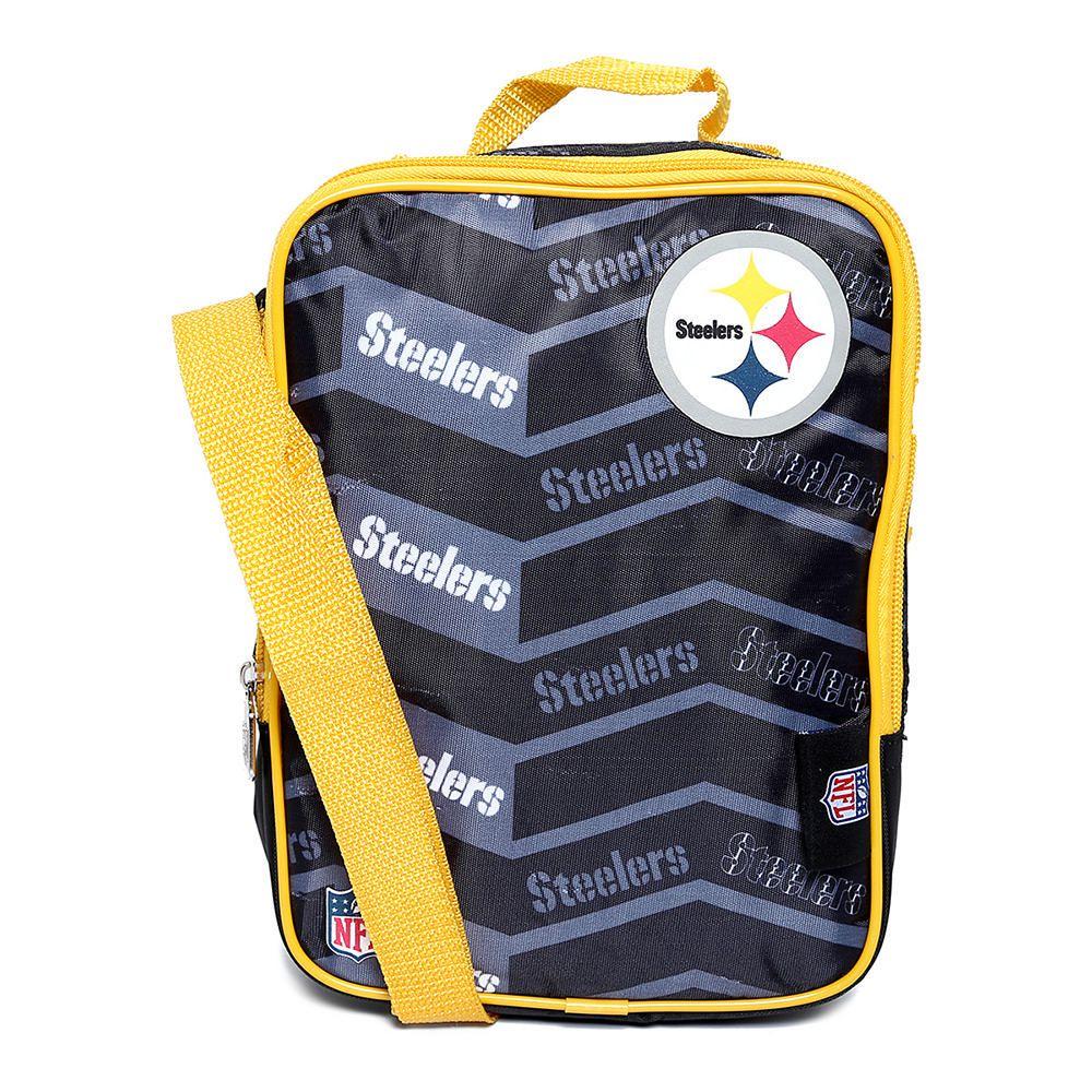 f5a6453cb893c Lonchera NFL Pittsburgh Steelers Negro con Amarillo