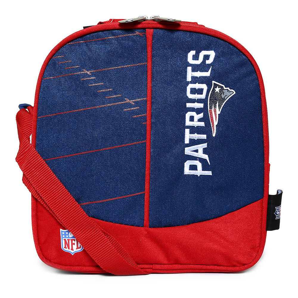 47a1d3334045a Lonchera NFL New England Patriots Azul con Rojo