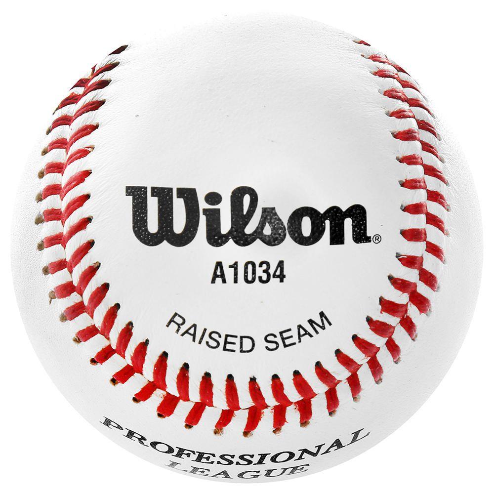 Pelota Wilson Beisbol Liga Profesional Rojo con Blanco  46d213d68de