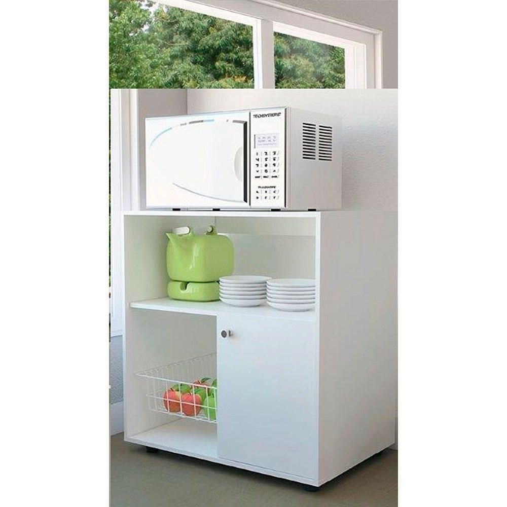 Mueble para Microondas Excelsior Austria Blanco | Elektra Online ...