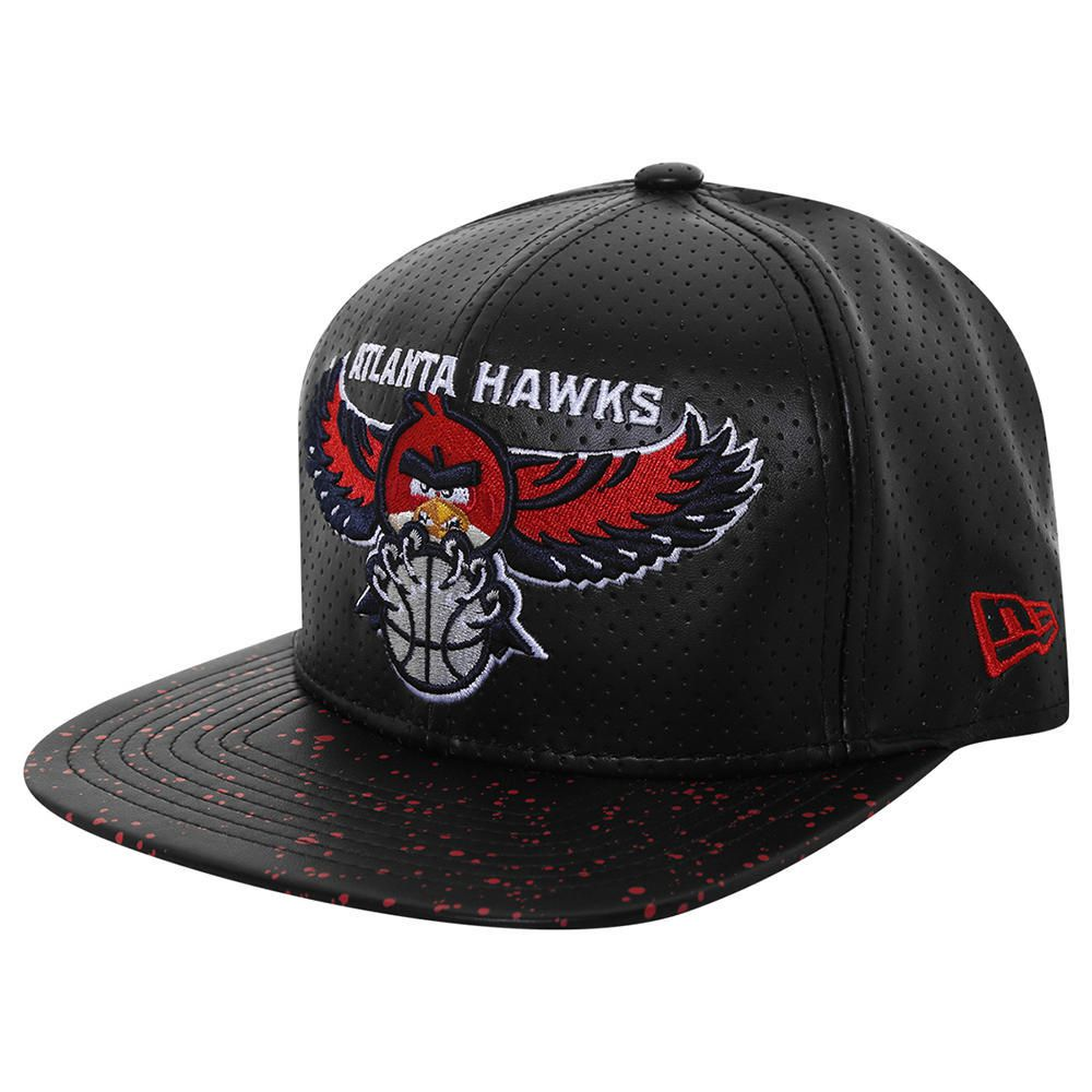9e230a95e9c49 Gorra New Era 950 NBA Atlanta Hawks Angry Birds