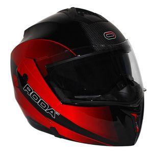 622228d7825bc Motos - Accesorios para motocicleta - Cascos RODA   NEGRO Abatible ...