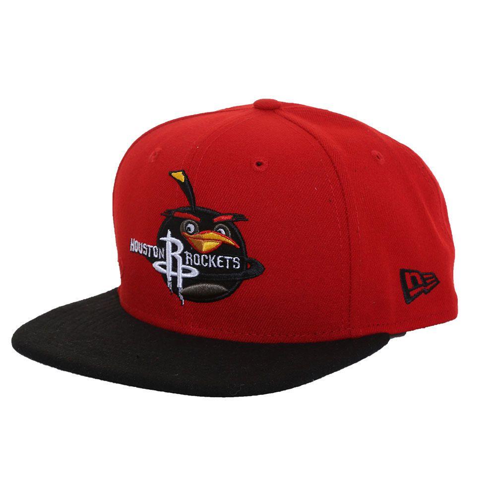 706a828dad5ab Gorra New Era 950 NBA Houston Rockets Angry Birds