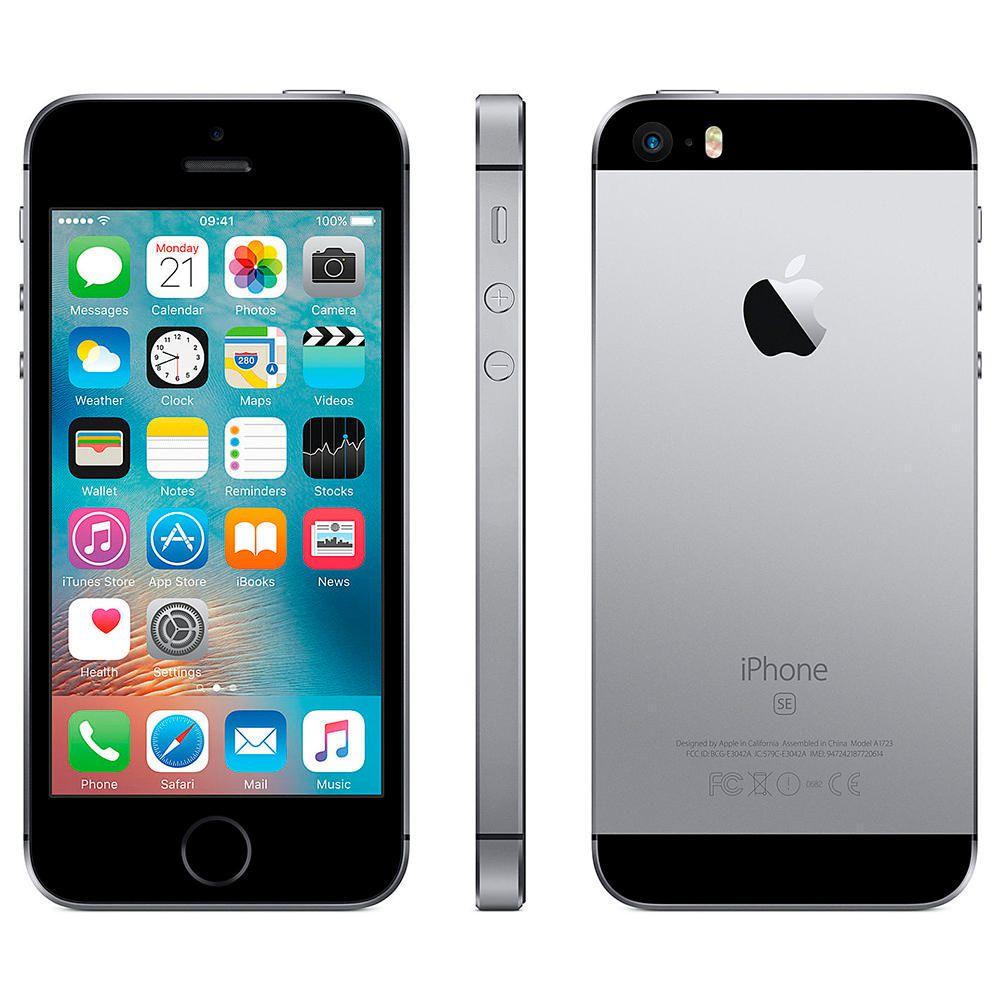 apple iphone se 32 gb oui negro elektra online elektra. Black Bedroom Furniture Sets. Home Design Ideas