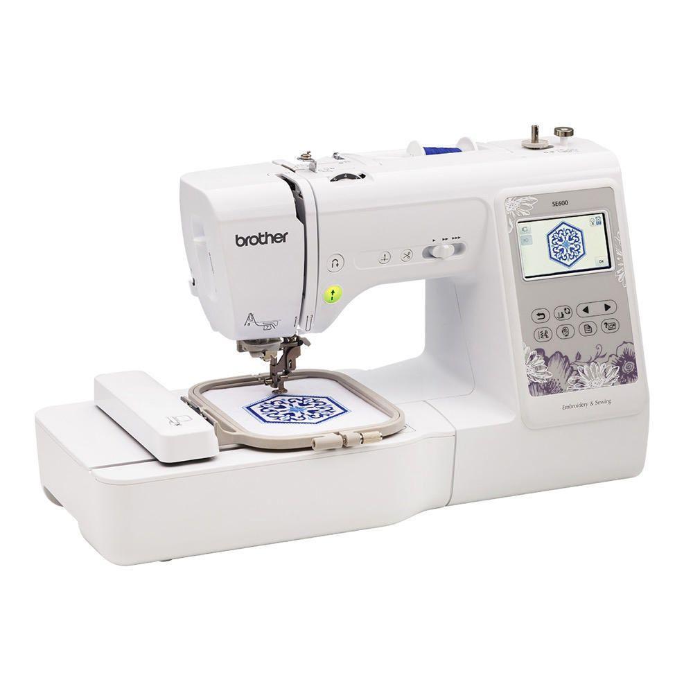 Máquina de Bordado y Costura Brother SE600|Elektra online - elektra
