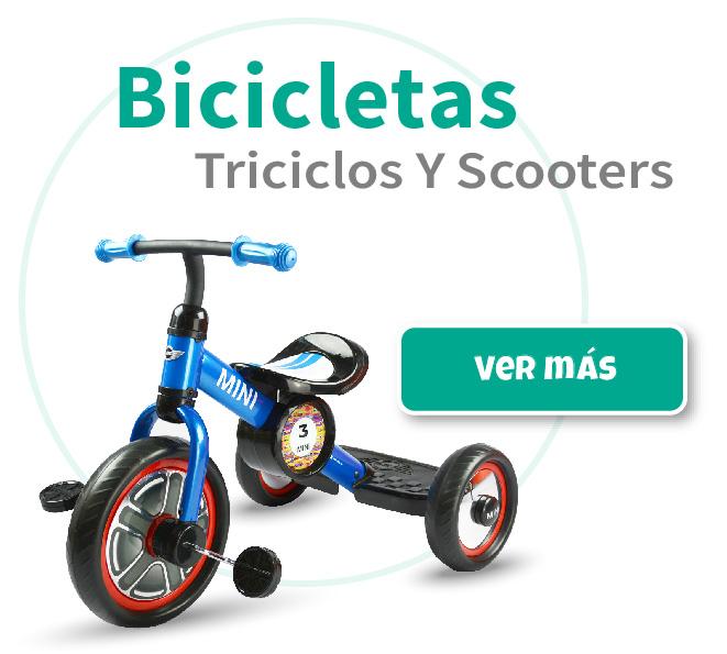 bicicletas y scooters