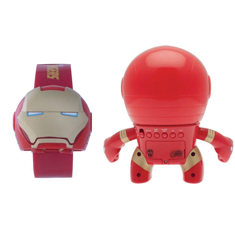 0f23e2a8a854 Set de Reloj y Despertador Bulb Botz Iron Man