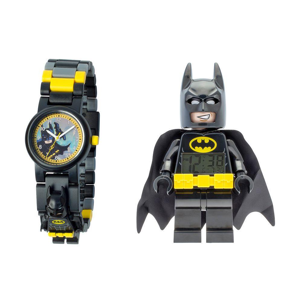 Mini Set De RelojDespertador Y Figura Lego Batman SqzpULMVG